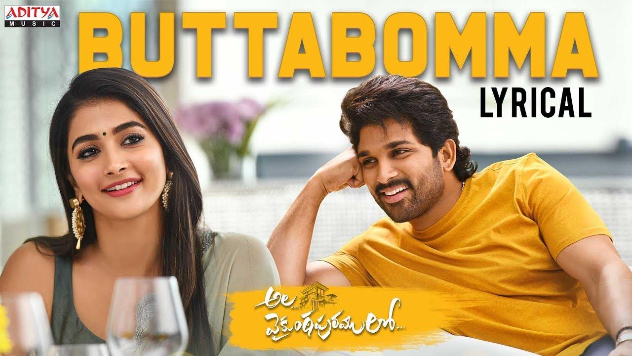 Butta Bomma Song Lyrics In Tamil