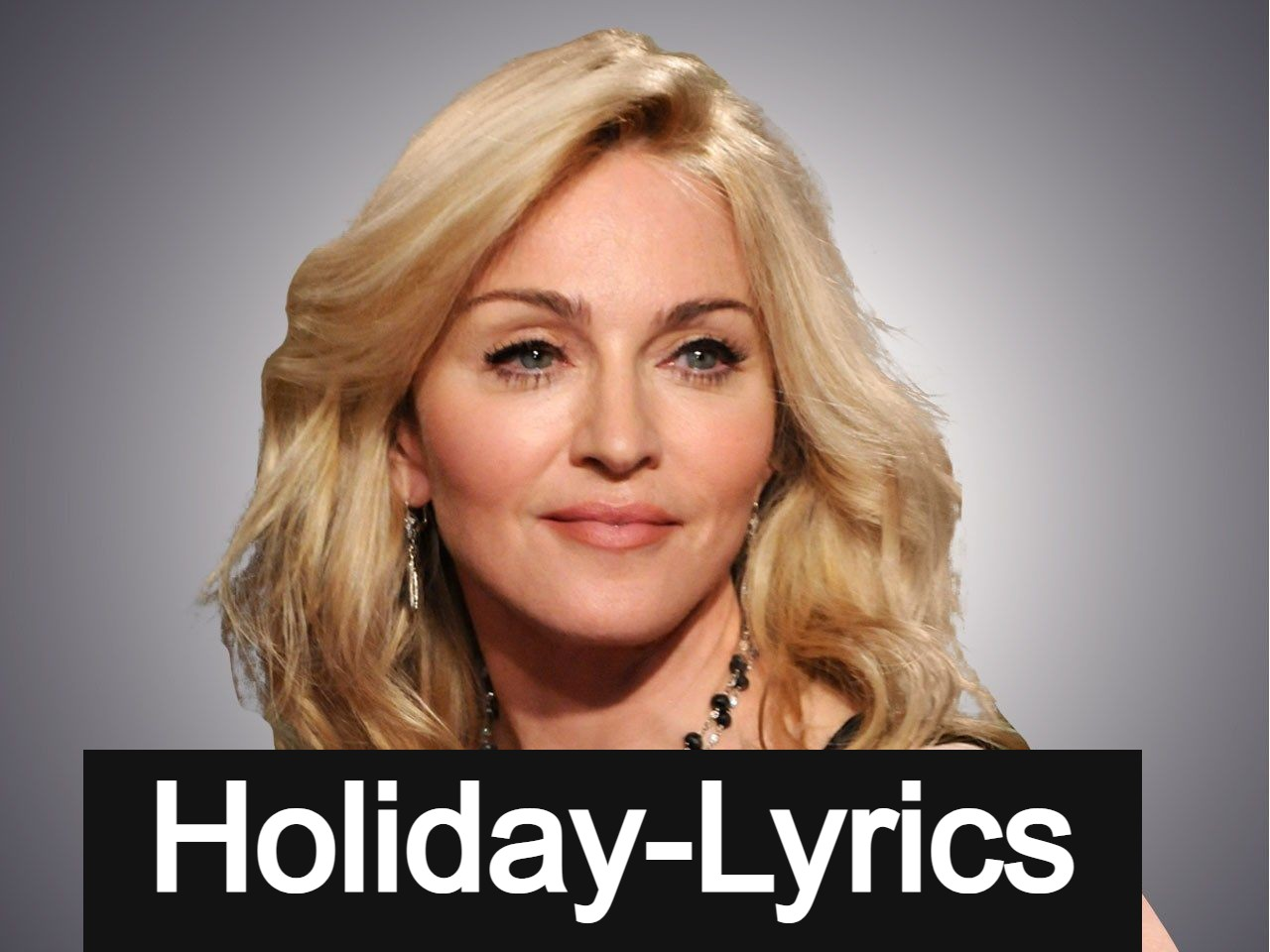 Holiday Song Lyrics By Madonna