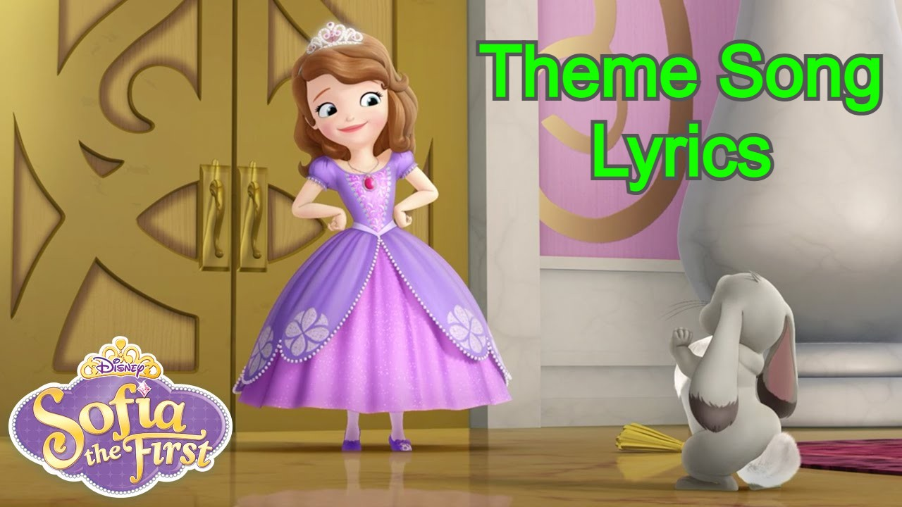 Sofia The First Theme Song Lyrics In English
