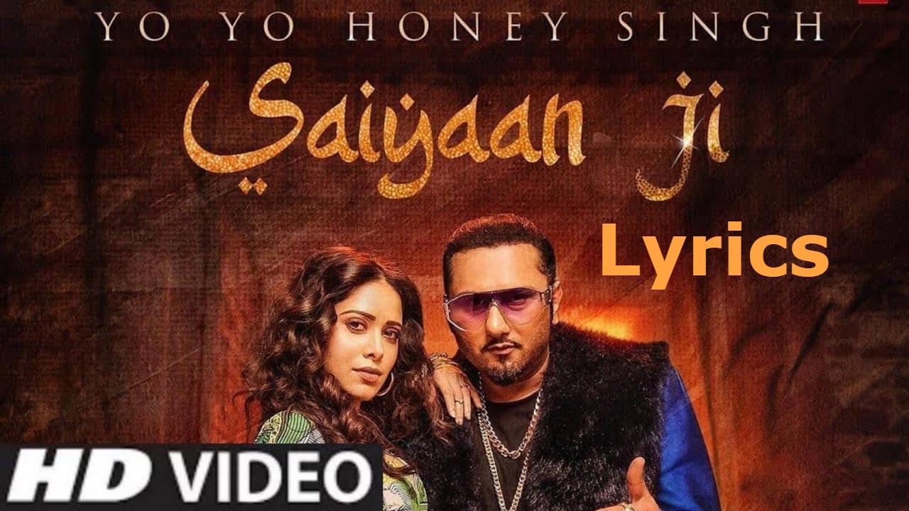 Saiyaan Ji Lyrics