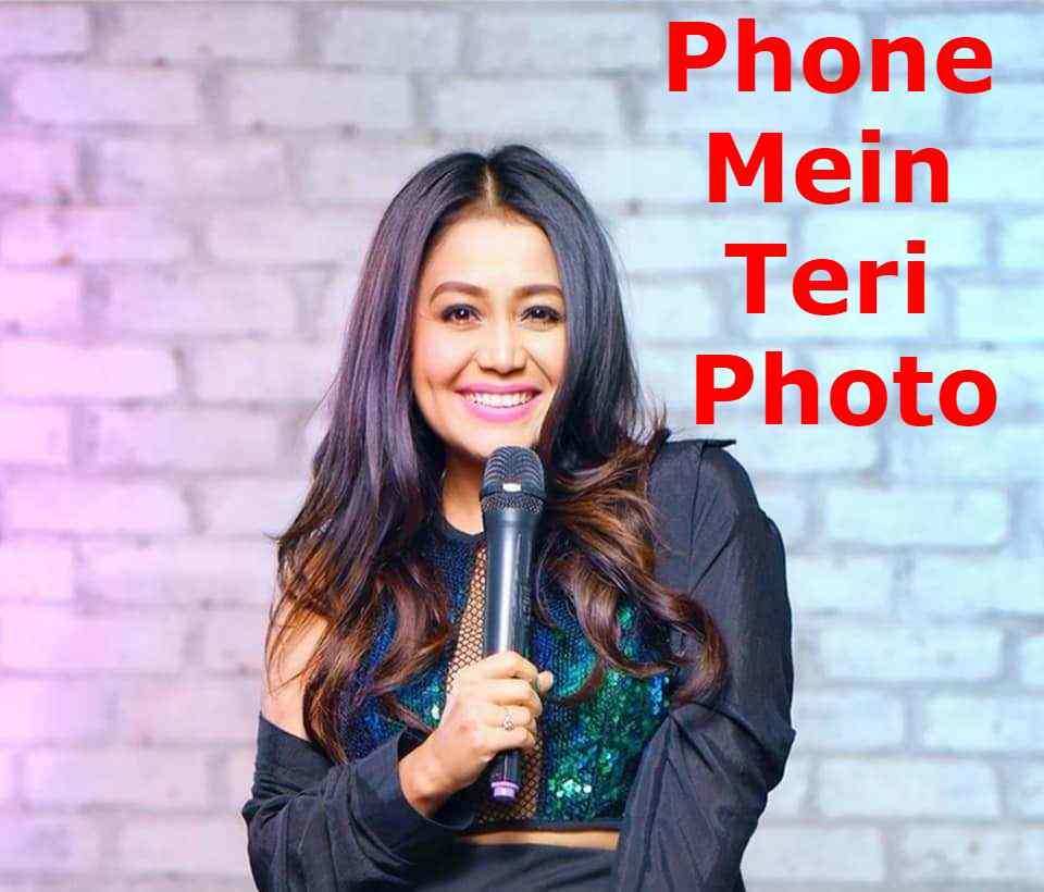 Phone Mein Teri Photo Lyrics In Hindi