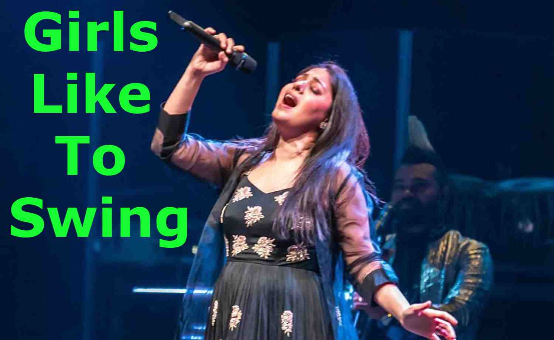 Girls Like To Swing Lyrics